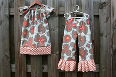 AMY BUTLER Morning Glory Tunic Dress and Ruffle by thetrendybaby, $50.00