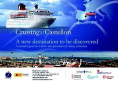 Imagen de Cruceros del Puerto de Castellon para la feria Cruise Shipping Miami 2013