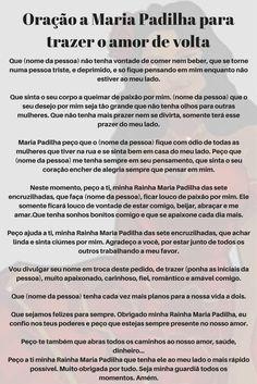 #Oração a Maria Padilha para trazer o amor de volta