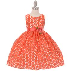 a416cdfed71 Girls Formal Occasion 3263  Coral Flower Girl Dress Graduation Birthday  Wedding Prom Formal Party Bridesmaid -  BUY IT NOW ONLY   42.99 on eBay!