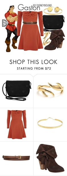 """""""Gaston"""" by leslieakay ❤ liked on Polyvore featuring TOMS, River Island, Lana Jewelry, STELLA McCARTNEY, Antelope, Kenneth Cole, disney, disneybound and disneycharacter"""