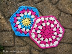 Fiber Flux...Adventures in Stitching: Magnificent Motifs! 25 Free Crochet Patterns