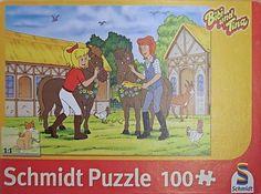 Schmidt Spiele Puzzle Bibi und Tina Pferdegeburtstag 100 tlg - gefunden auf Marias Einkaufsparadies !