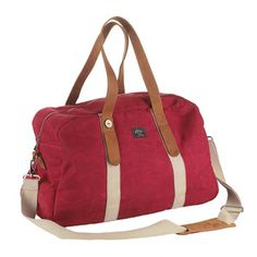 Weekender Bag 48 Berry, $149, now featured on Fab.