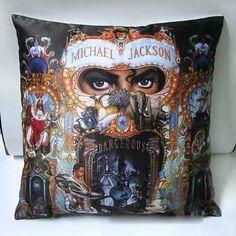 Michael Jackson Dangerous Cushion Pillow Cover Case Bag - http://www.michael-jackson-memorabilia.co.uk/?p=14158