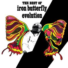 Iron Butterfly - Evolution: The Best Of Iron Butterfly on Limited Edition 180g LP