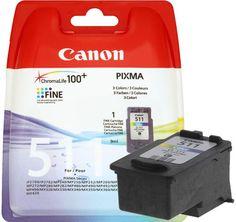 CARTUCHO TINTA COLOR CANON ORIGINAL CL 511 PIXMA MP 260 270 272 280 282 480 490