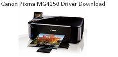 Canon Pixma MG4150 Driver Download   Printer Install Driver