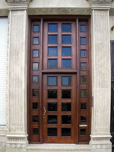 Luxury Mahogany Door | por Kombizz