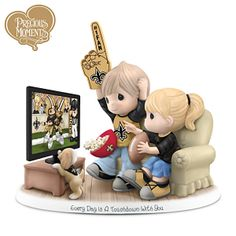 Every Day Is A Touchdown With You Saints Figurine