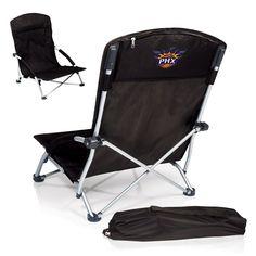 Phoenix Suns NBA Tranquility Black Beach Chair