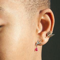 Cupid's Arrow Earring - Erstwhile Wedding & Engagement - Catbird