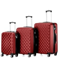 71bd24ea7602ac Shop for Timmari Hard Lightweight Expandable ABS Luggage Set 28, 24, 20 and  more