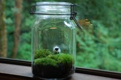 irish landscape with wee wool sheep by weegreenspot on Etsy, $42.00