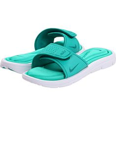 1f6b9ed48cb357 Comfort Slide by Nike. Will look good with bright pink toe s. Cute Nike  Shoes