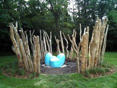 The End Grain: The New Children's Garden and Nature Playground ...