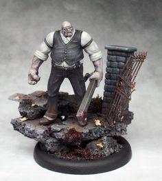 Malifaux Mr. Graves. He's pretty mean!