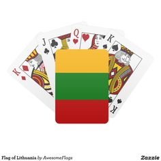 Flag of Lithuania Card Deck