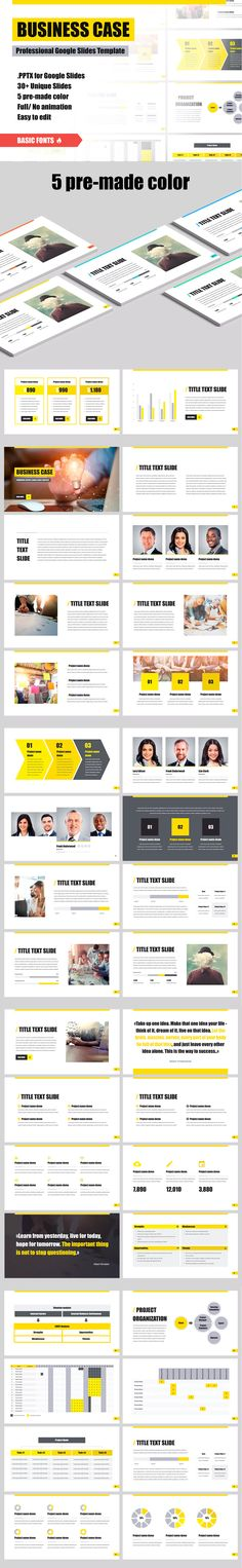 presenting a business case template.html
