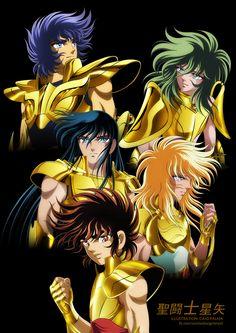 Saint Seiya Power of Gold