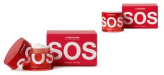 SOS rescue cream | Puigdemont Roca – Design Agency – Barcelona – Packaging & Branding