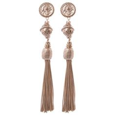 Oversized Aztec Drop Earring ($11) ❤ liked on Polyvore featuring jewelry, earrings, gold jewelry, yellow gold earrings, oversized earrings, aztec jewelry and yellow gold drop earrings