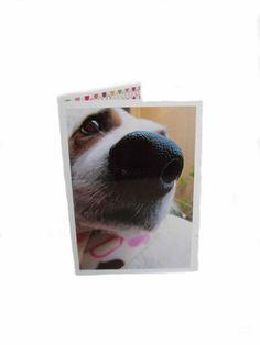 Blank Dog Greeting Card by Lillyzcardz on Etsy, $4.00