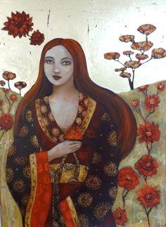 Divine Garden, Loetitia Pillault, Art - Goddesses, Muses