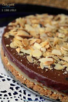 Marcipános csokitorta robbanós cukorkával – sütés nélkül készül   Életszépítők