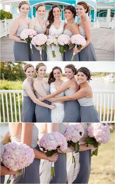 Pink and Grey Brides