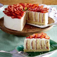 Erdbeer-Wickeltorte Rezept