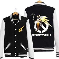 [Overwatch] Mercy Baseball Jacket Ver.1 (various colors) HF00942 – Harajuku Fever