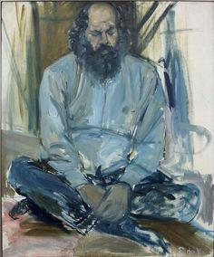 Elaine de Kooning's portraits of Poet Allen Ginsberg, 1973 Willem De Kooning, Figure Painting, Painting & Drawing, De Kooning Paintings, Elaine De Kooning, Allen Ginsberg, Figurative Kunst, Expressionist Artists, Canadian Art