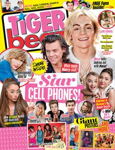 Tiger Beat Magazine Is Revived With a New Vision - The New York Times My Magazine, Magazine Articles, Teen Posters, Taylor Swif, Whose Line, Music Tours, Tiger Beat, Recent Events, Kiss You