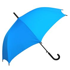 Featuring a black rubber matte handle and auto opening frame. The Willow Tree Classic Auto Open Blue umbrella is a great accessory for any occasion.