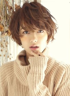 Pin on Hair Makeup Asian Pin on Hair Makeup Asian Tomboy Hairstyles, Short Bob Hairstyles, Cute Hairstyles, Asian Short Hair, Girl Short Hair, Hair Reference, Short Hair Cuts For Women, Great Hair, Hair Dos