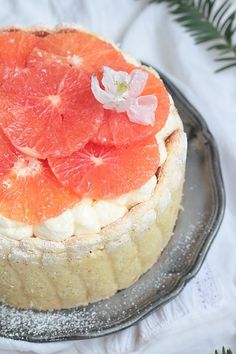Délices d'Orient: Tiramisu Grapefruit Weg charlotte Pavlova, Charlotte, Facon, Grapefruit, Muffins, Cheesecake, Food And Drink, Cupcakes, Cooking