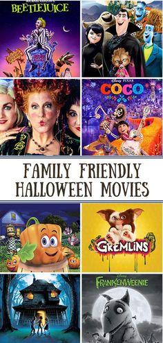 Family Friendly Halloween Movies