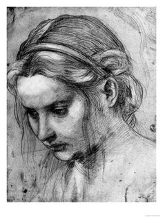 Head of a woman // Andrea del Sarto