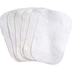 Organic Terry Baby Wipes - 6 pack by Under the Nile Organics at BabyEarth.com, $13.95
