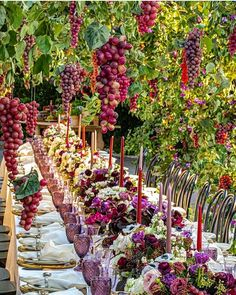 """LEBANESE WEDDINGS on Instagram: """"Sunday Morning Inspiration all the way from #LosAngeles 🍇 Yay or Nay !? _______________________ ▪︎Floral decoration:@celiosdesign…"""""""