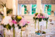 Flower Design Events: Katie & Paul's Magical Wedding Day at Eaves Hall, Featuring some Images from David Stubbs Photography