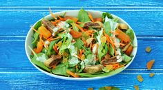 Dried Fruit & Spinach Salad