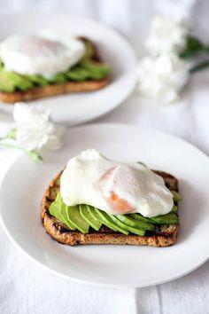 Avocado Toast, My Recipes, Eggs, Breakfast, Food, Morning Coffee, Eten, Egg, Meals