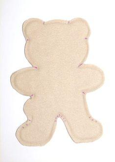 Teddy Bear Patterns Free, Teddy Bear Sewing Pattern, Baby Patterns, Easy Sewing Patterns, Easy Sewing Projects, Sewing Crafts, Sewing Tutorials, Sewing Hacks, Sewing Ideas