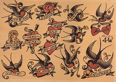 sailor jerry tattoos - Buscar con Google