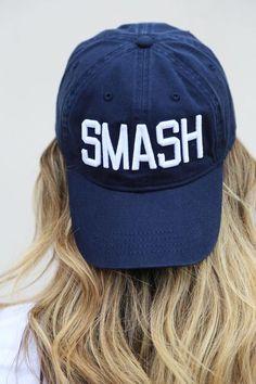 Navy/White SMASH Ball Cap - The Nash Collection