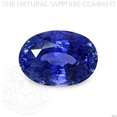 Natural Untreated Blue Sapphire, 16.78ct. (B5870) #TheNaturalSapphireCompany
