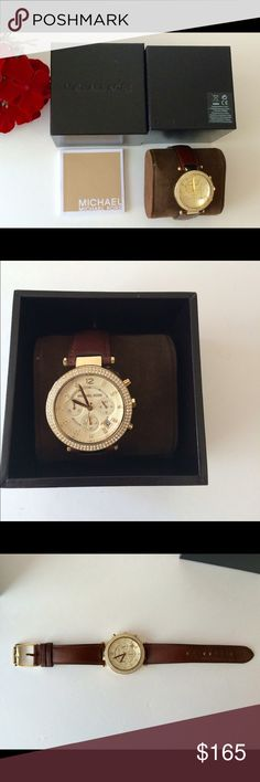 🍒 Michael Kors watch 🍒 Authentic MK watch , used once. Like new. Michael Kors Accessories Watches