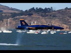 Sneek passes of Blue Angels at Fleet Week in San Francisco.  I've replayed this a ridiculous amount of times, cuz it's fun to watch.